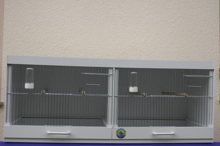 Doppelbox mit Trennschieber