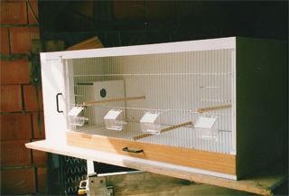 Einfachbox mit Nistkastentür